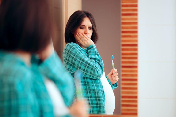 دندان درد بارداری
